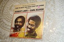 HUBERT LAWS AND EARL KLUGH HOW TO BEAT THE HIGH COST OF LIVING OST LP PROMO VG