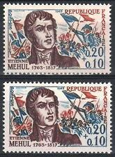 "FRANCE STAMP TIMBRE 1371 "" MUSICIEN MEHUL VARIETE COULEUR "" NEUF xx SUP M369"