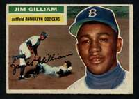 1956 Topps #280 Jim Gilliam EXMT/EXMT+ Dodgers A3335