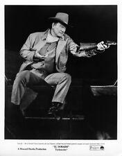El Dorado original 8x10 photo John Wayne in action with rifle
