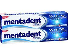 Mentadent Dentifricio White System - 4 confezioni da 2 x 75 ml (k5f)