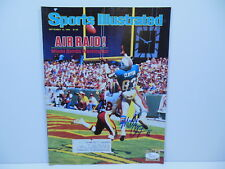 MARK CLAYTON MIAMI DOLPHINS SIGNED SPORTS ILLUSTRATED 9/10/1984 JSA AIR RAID