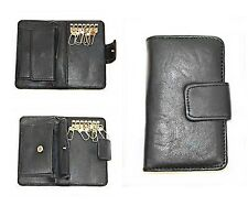 Schlüsseltasche Leder Geldbörse Schlüssel Etui Auto Schlüsseltasche mit Münzfach