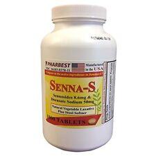 Senna 8.6 Mg & Docusate Sodium 50 mg Generic for Senokot-S 1000 Tablets