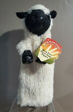 """Folkmanis 15"""" Black Face Sheep Hand Puppet (Tagged New)"""