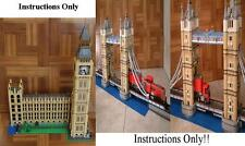 GET 100+ LEGO INSTRUCTIONS including Motorized Lego Big Ben 10253 with Light