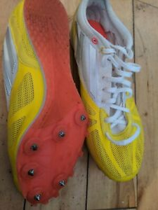 Adidas arriba 4 Track Spikes Running Shoes Trainers Size 6.5 Rare Vintage