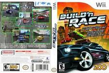 BUILD N RACE WII NEW! RACING, JUMPS, WILD STUNTS, BUILD TRACKS! FUN FAMILY GAME!