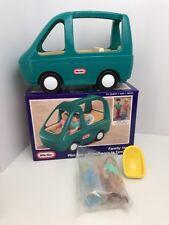 Little Tikes Vintage Dollhouse Family Car Mini Van Green Doll Furniture New