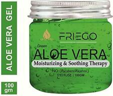 Friego Aloe Vera Gel with Cucumber Extract for Hair & Skin (100 g) Freeshipping