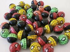 10 Spinnen Flummi 30 mm Springball Spider Mitgebsel für Kindergeburtstag N 141