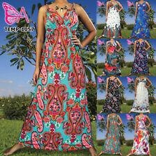 Paisley Long Casual Regular Size Dresses for Women