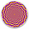 2 x Vinyl Stickers 7.5cm - Psychedelic Hippy Pattern Cool Gift #3968