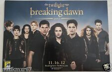 SDCC Comic Con 2012 EXCLUSIVE twilight saga breaking dawn part 2 Poster