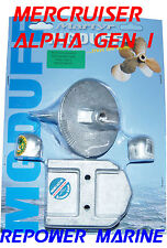 Anode Kit for Mercruiser MR, Alpha Gen 1, High Quality MG Duff, 888756Q04
