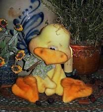 Patti's Ratties Primitive Chicken Bird Chick Doll Ornie Paper Pattern #573