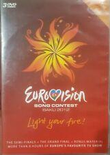 EUROVISION SONG CONTEST BAKU 2012 RARE LIGHT YOUR FIRE DVD MUSIC DOCUMENTARY