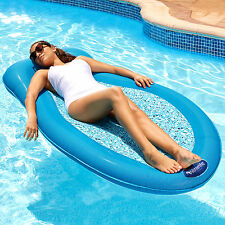 Pool Inflatable Lounger Floats Water Swimming Adults Floating Bed Float Lounge
