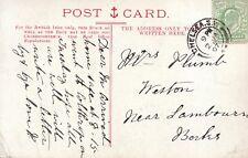 Family History Postcard - Plumb - Weston - Lambourne - Berkshire - Ref 1666A