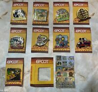 New 9 Disney Pin Epcot 30 Year's Of Discovery Limited Release