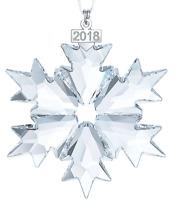 NIB$79 Swarovski Annual Edition 2018 Christmas Ornament Snowflake Large #5301575