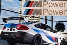 2x M Power Aufkleber Sticker M Logo BMW M Power 3er 5er X5 145 mm