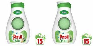 2 x Persil Small and Mighty Bio Laundry Liquid 15 Wash 525 ml