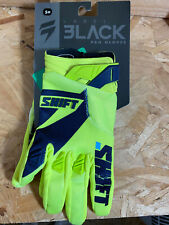 Fox 3Lack Pro Racing Gloves - Yellow/White - UK S - New With Defects - I001