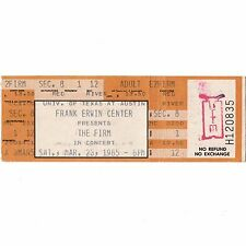 The Firm Concert Ticket Stub Austin Texas 3/23/85 Bad Company Led Zeppelin Rare