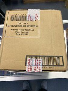 Magic The Gathering Kaldheim - Set Booster Box Display SEALED CASE OF 6
