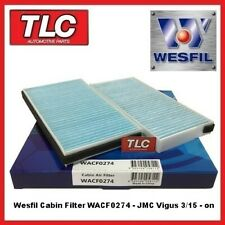 Wesfil WACF0274 Cabin Pollen Filter - JMC Vigus 03/15 - on