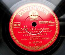 0594/Joseph Schmidt-Prière du Rodrigo-Arie DU GRIEUX-Massenet -- gomme laque