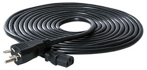 20' HydroFarm 240v Ballast Power Cord Supply 3 Prong Grounded 16/3 Gauge SAVE $$