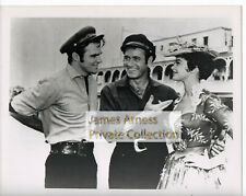 James Arness Gunsmoke Marshal Dillon Burt Reynolds Riverboat Photo #1