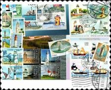 Lighthouses : 25 Different Stamps Collection