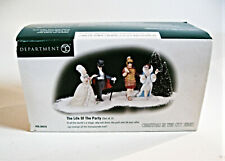 Life of the Party Figurines Department 56 Heritage Village 58970 New In Box