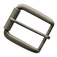 """Classic Single Prong Replacement Roller Belt Buckle, Fits 1-1/2"""" wide"""