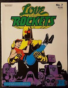 Love & Rockets #7 (Fantagraphics Books ) 1991 2nd Print F/VF