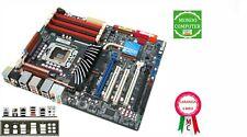 SCHEDA MADRE SOCKET 1366 ASUS P6T DELUXE  + MASCHERINA POSTARIORE / BACK PANEL