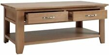 Unbranded Less than 60cm High Oak Contemporary Coffee Tables