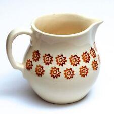 Schöne alte Milch-Kanne Krug aus Keramik wohl Bunzlau