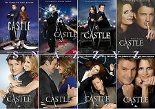 New & Sealed! TV Castle Complete Series DVD Seasons 1 - 8