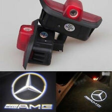 LED Door Light Projector White AMG Logo Emblem For Mercedes C-Class W204 08-2014