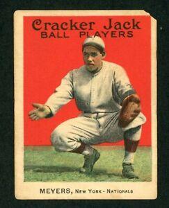 1914 Cracker Jack #71 CHIEF MEYERS Fair-Good