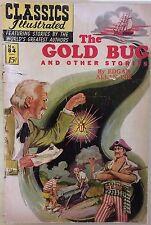 CLASSICS ILLUSTRATED #84 The Gold Bug by Edgar Allan Poe (HRN 167) 1964 VG/VG+