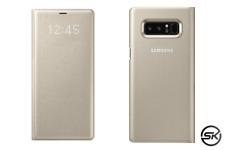 Samsung LED View Cover Schutzhülle für Galaxy Note 8, gold (EF-NN950PFEGWW)