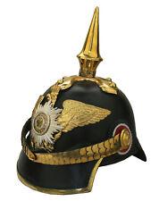 Pickelhaube Garde General Preussen Kaiserreich shako Helm Reenactment sca L181