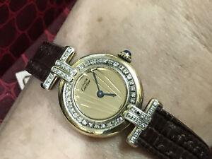 Cartiers Vermeil Diamond Ladies