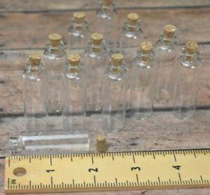 24 X Recuerdos De Bautizo Baby Shower Bridal Quinceanera Glass Bottle And Cork