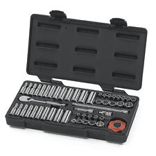 "Gearwrench 80301 51 Piezas 1/4"" Drive 12 Point Socket Set"